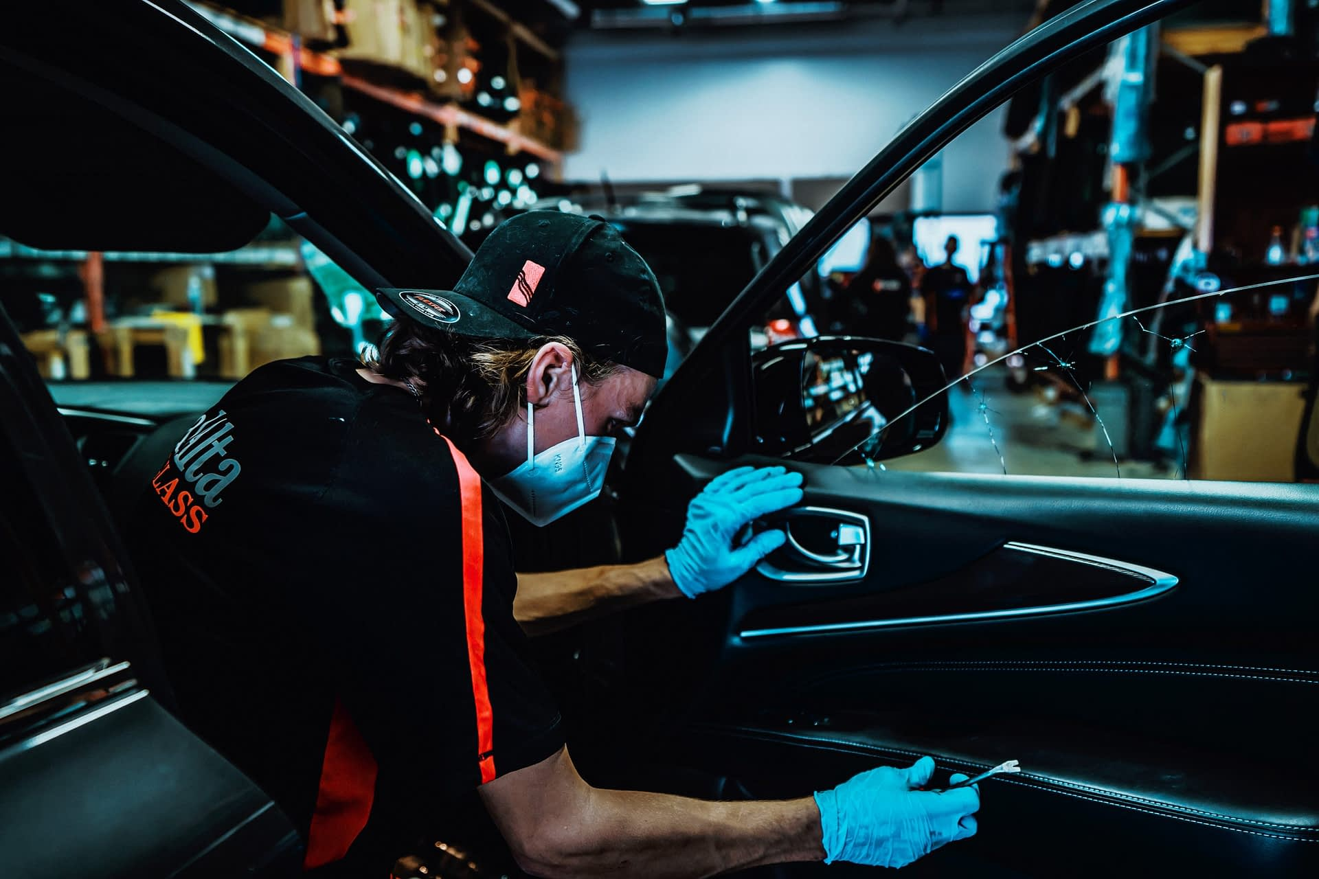 Windshield replacement at CalAlta Autoglass in Calgary