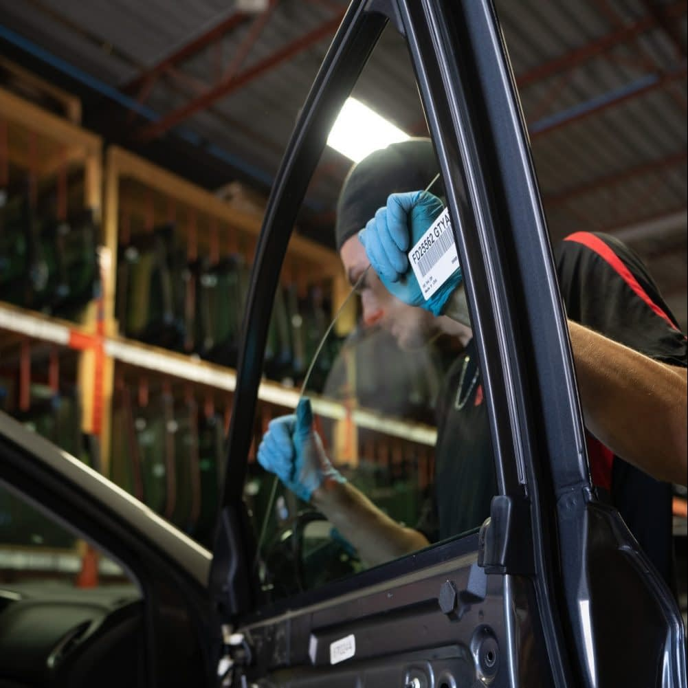 Auto glass and window replacement at CalAlta Autoglass in Calgary